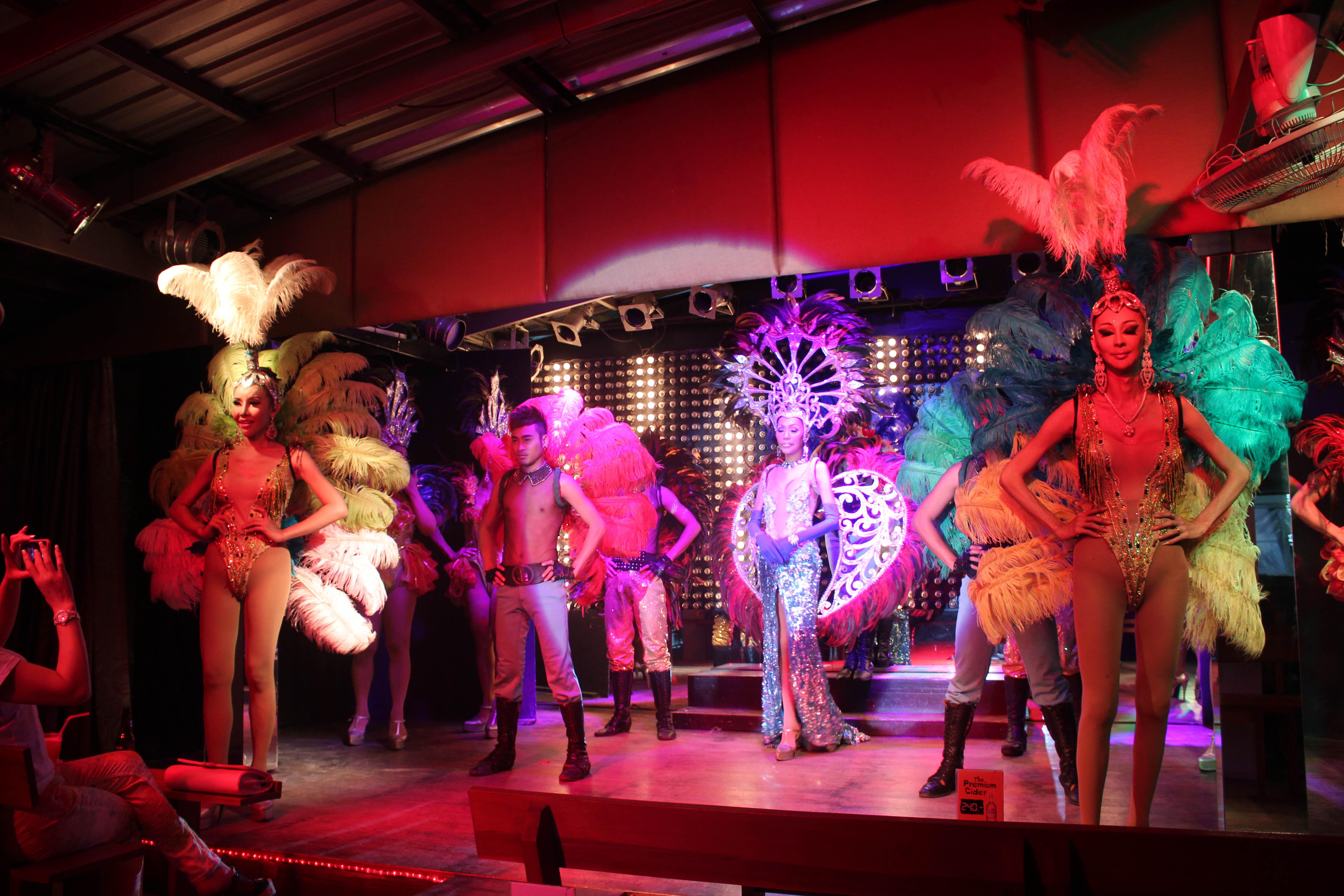 Ladyboy show phuket thailand-3014